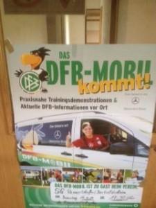 DFB Mobil Plakat
