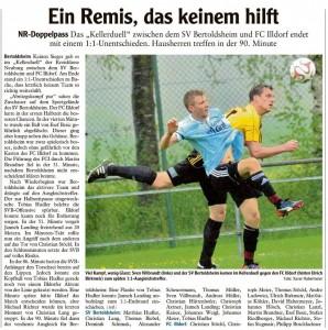SV Bertoldshei FC Illdorf Spielbericht